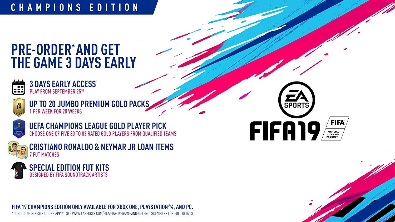 XBOXOne FIFA 19 Champions Edition