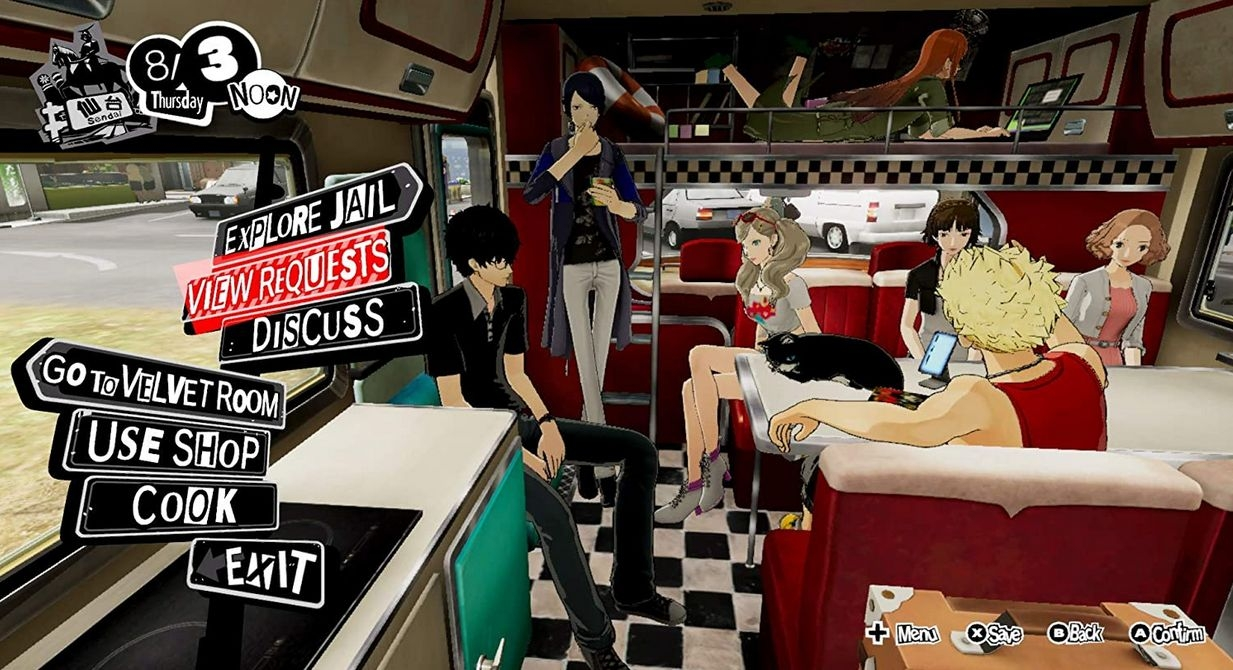 Switch Persona 5 Strikers