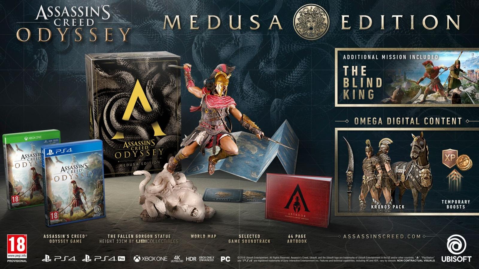 XBOXOne Assassin´s Creed Odyssey Medusa Edition