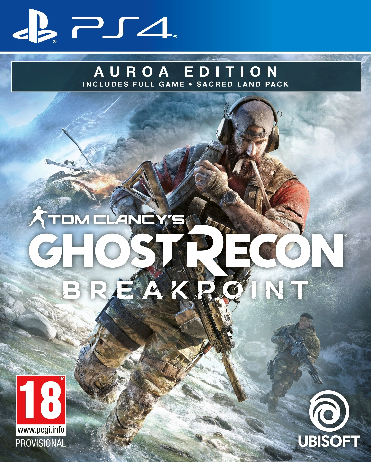 PS4 Ghost Recon Breakpoint Auroa Edition