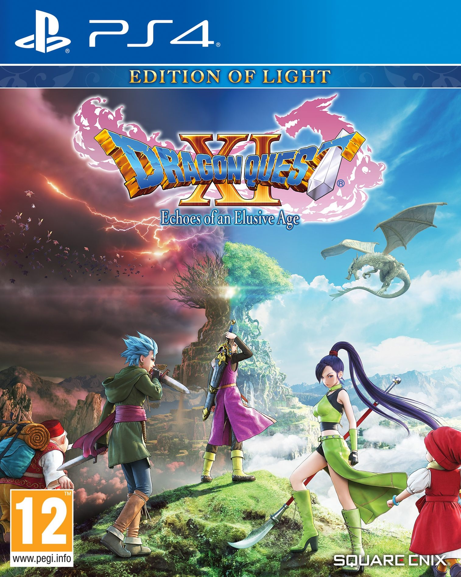 PS4 Dragon Quest XI: Edition of Light