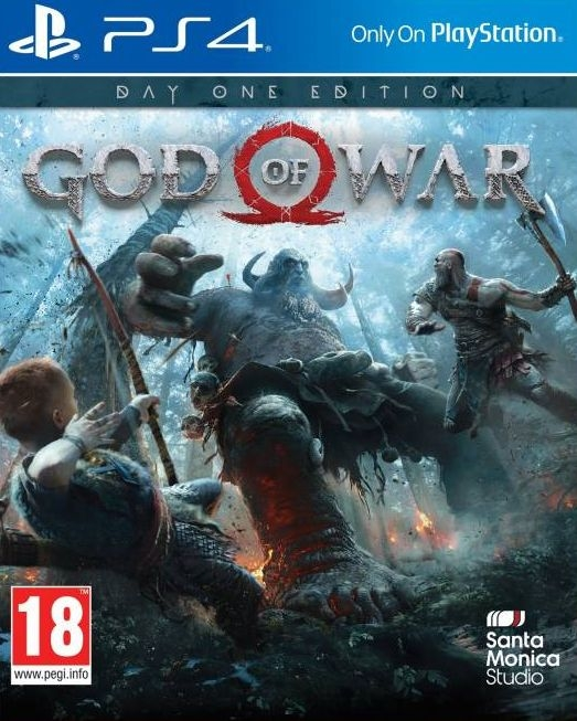 PS4 God of War Day One Edition