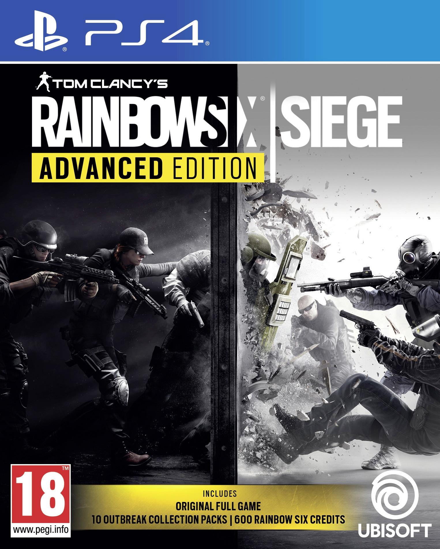 PS4 Rainbow Six Siege Advanced Edition