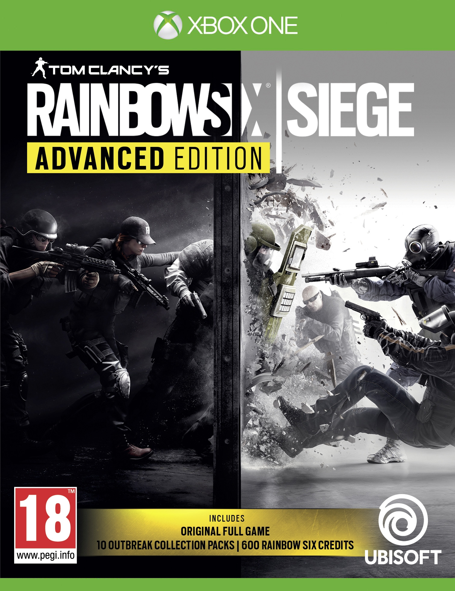 XBOXOne Rainbow Six Siege Advanced Edition