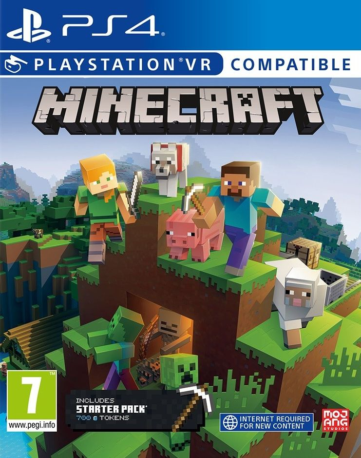 PS4 Minecraft Starter Collection (PSVR Compatible)