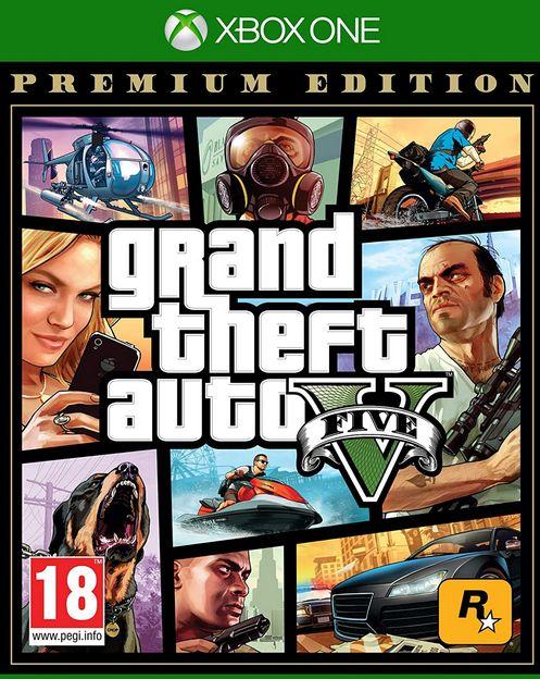 XBOXOne Grand Theft Auto 5 Premium Edition