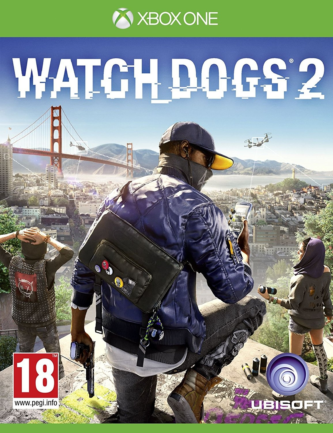 XBOXOne Watch Dogs 2