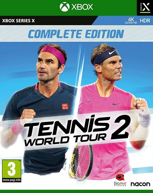 XBOXSeriesX Tennis World Tour 2 Complete Edition