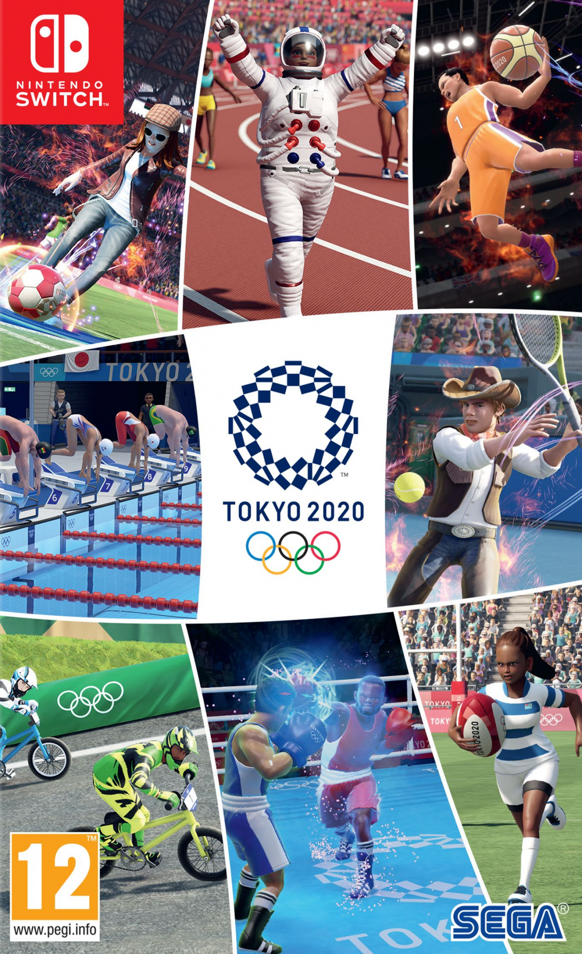 Switch Olympic Games Tokyo 2020 The Official Video Game